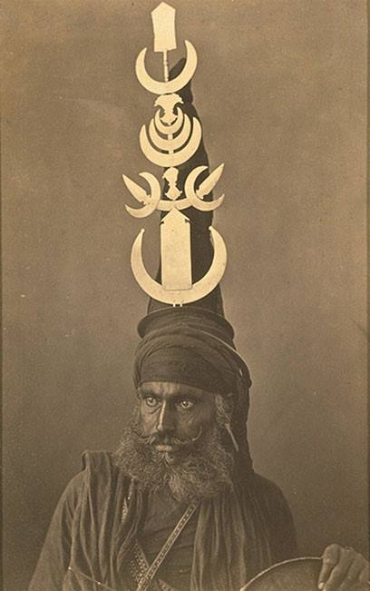 Captain W.W. Hooper & Surgeon G. Western, 'A Sikh', 1860-70