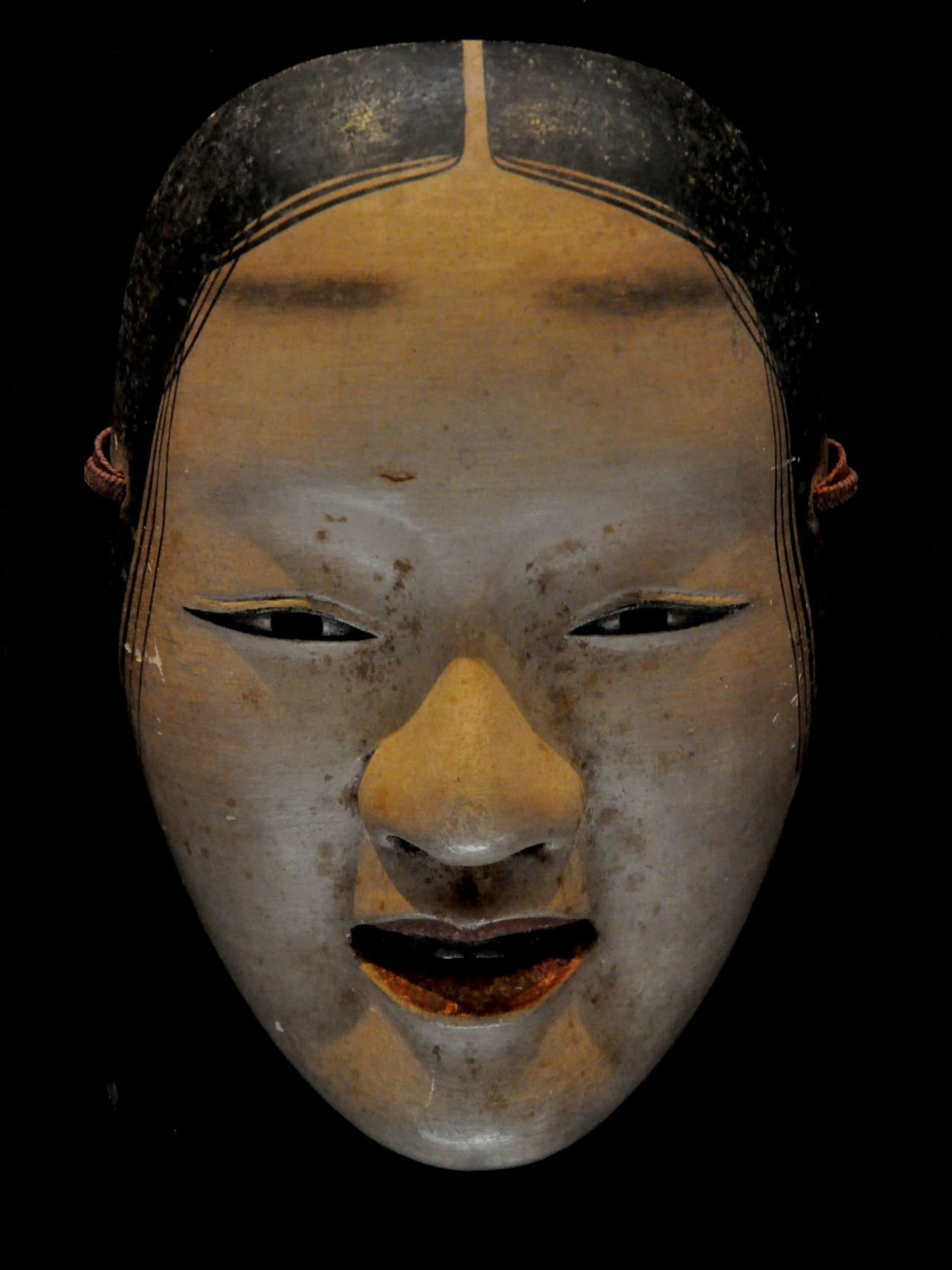 Polychromed Zo'Onna Noh Masks. Japan. 17th century