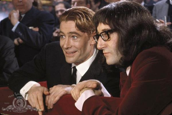 Peter O´Toole och Peter Sellers