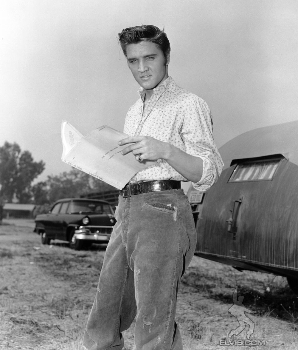 Elvis Presley gör sin filmdebut 1952. Han kom att spela in många filmer: The wild one, Rebel without a cause, Love Me tender, Loving you, Jailhouse Rock, King Creol, Flamin Star, Rostabout, Abbot and Costello meet Frankenstein, Girl Happy, Viva Ls Vegas, The great Caruso, Harum Scarum, Paradise, Easy Come Easy Go, The Time, Spinout, Becket, Blue Hawaii, Clambake, dep Throat, A Star is Born, 2001, the return of the Pink Panter, Dr Strangelove, MacArthur, Elvis Elvis on Tour
