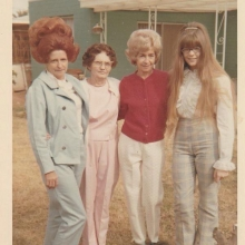 The sixties… when everything except hair was simpler.